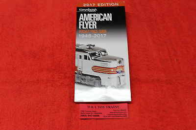 108617 2017 Greenberg's American Flyer Pocket Price Guide Brand New