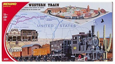 Mehano T109 –Western Train with layout – Set Trenino Elettrico in (r1d)
