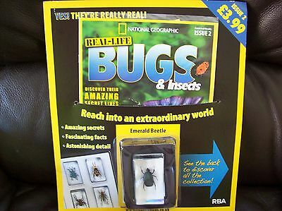 National Geographic Real-life Bugs & Insects magazine Issue 2