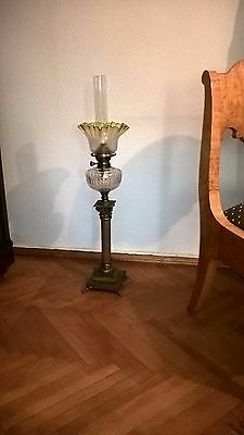 Antique Russian Empire oil, kerosene lamp