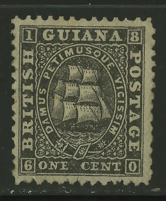 British Guiana  1862-65  Scott #  24  UNUSED