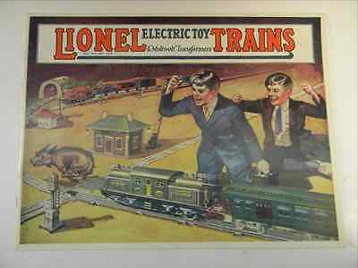 1924 Lionel Color Consumer Catalog   1975 House Of Heeg Reproduction