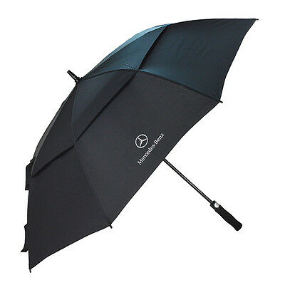 Mercedes-Benz Large Open Vented Golf and Rain Umbrella Brand New - EXPRESS SHIP