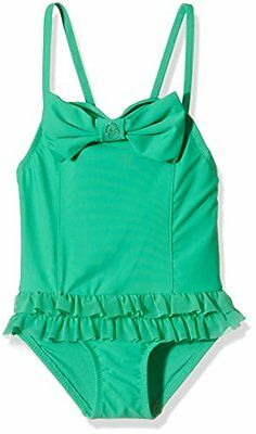 Angels Face Roma Bathing Suit, Nuoto Bambina, Green (Jade Green), 6-7 Anni
