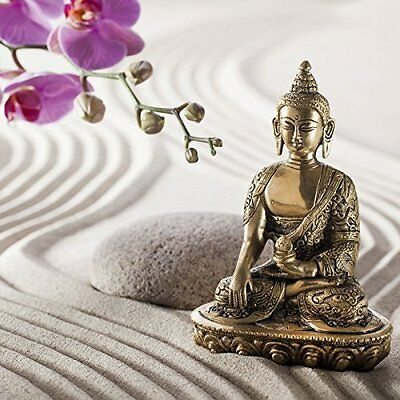 'Eurographics dt12092 - Glass - Buddha In The Sand 30 x 30 cm
