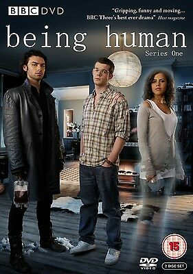 BEING HUMAN COMPLETE SERIES 1 DVD Brand New and Sealed Season UK Release