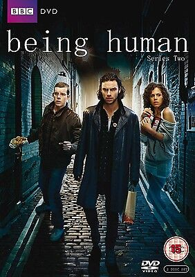 BEING HUMAN COMPLETE SERIES 2 DVD Brand New and Sealed Season UK Release