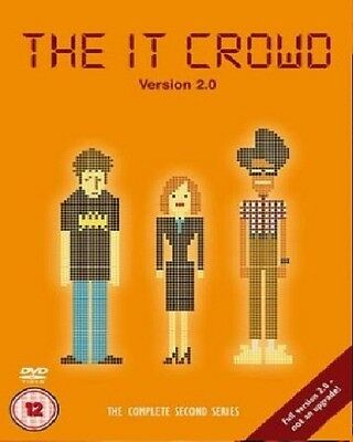 IT CROWD COMPLETE SERIES 2 DVD Brand New and Sealed I.T Season UK Release