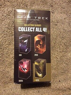 STAR TREK COLLECTIBLE DRINKING GLASS 2008 - Nero