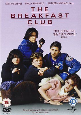 THE BREAKFAST CLUB DVD John Hughes Emilio Estevez Brand New Sealed UK Release