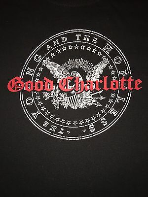 Good Charlotte The Young & The Hopeless Tour Concert 2004 T-Shirt Sz Large