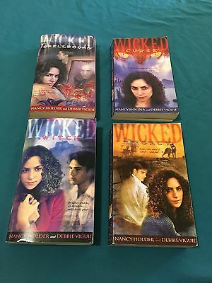 Nancy Holder And Debbie Viguie Wicked Books Lot Of 4 Curse Legacy Witch