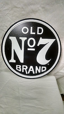 Jack Daniels old no 7  Vintage Retro Style Metal Tin SIgn New
