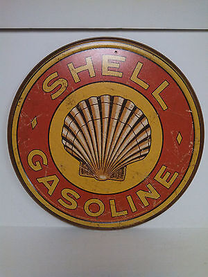 SHELL GASOLINE  Vintage Retro Style Metal Tin SIgn New