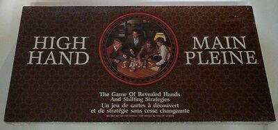 Vintage - High Hand Board Game - 1984 - Brand New