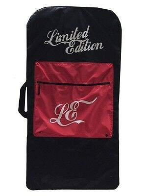 Limited Edition Basic Bodyboard Bag - Black & Red