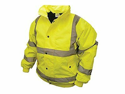 Scan Hi-Vis Bomber Giacca giallo - Large