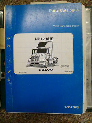 Volvo Nh12  Parts Manual  ....  Complete  ...  In Hard Cover Folder