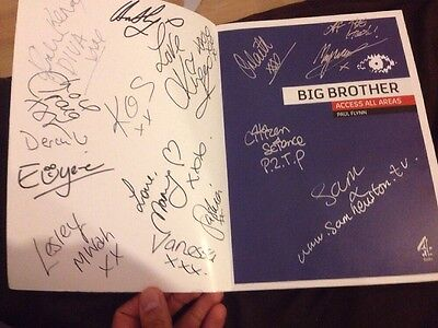 Big Brother 6 Book Signed By All 16 Housemates In 2005 With Diary Room Uncut Dvd