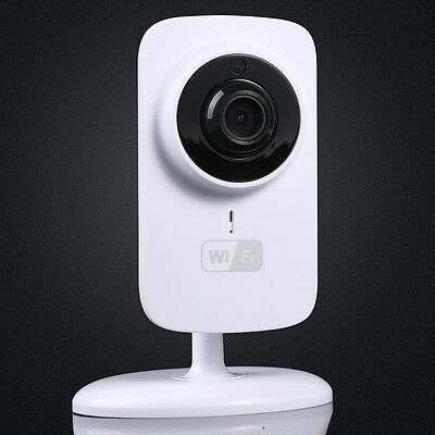 WiFi Mini Home Security Wireless Video Baby Monitor Night Vision Camera720P HD