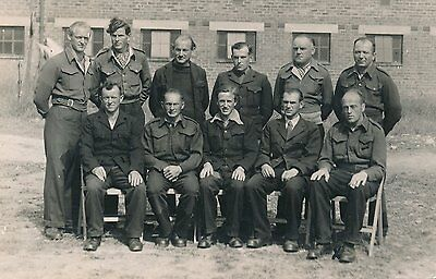 Ww2 Kelso German Prisoners Sunlaws Pow Camp 120 Real Photo Germany
