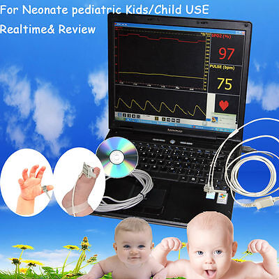 HOT!CMS-PN Pulse Oximeter,Suitable  for neonate,infant,children use,Pulse Rate