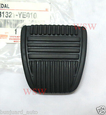 GENUINE Clutch Or Brake Pedal Rubber For Toyota Hilux MK1 MK2 MK3 MK4 MK5 Pickup