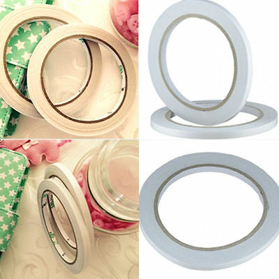 1/5/10 Rolls 6mm Double Sided Super Strong Adhesive Tape for DIY Craft Scrapbook