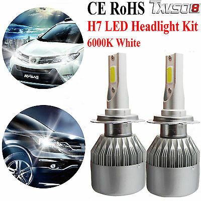 110w h7 cree led ampoule phare light headlight kit 6000k voiture feux car lampes eur 28 49. Black Bedroom Furniture Sets. Home Design Ideas