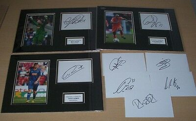 Blackpool - Signed Mounted Displays & Cards Season 2012/13 CLEARANCE SALE