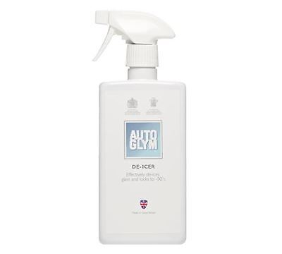 Genuine Autoglym De-Icer is a super concentrated, water-free formula 500ml