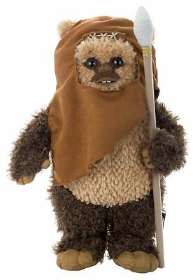 TAKARA TOMY Arts Star Wars Ewok Wicket 1/2Size 40cm Plush Stuffed Doll Japan F/S