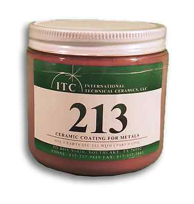 ITC-213 Ceramic Coating For Metals, Extend heating element & furnace shell life!