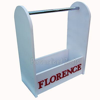 Children's Dressing Up Stand With Names MDF Fancy Dress Stand With Hanging Rail