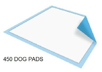 450 - Dog Puppy 23x36 Pet Housebreaking Pad, Pee Training Pads,  Underpads
