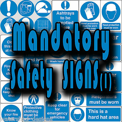 Mandatory safety signs, PPE, Close Door Keep Clear Vinyl wall stickers signs (1)