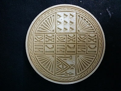Traditional Orthodox Prosphora Plastic Stamp for the Holy Bread 13.50cm