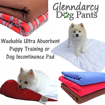 Waterproof Ultra Absorbent Washable Puppy Training Pad / Dog Incontinence