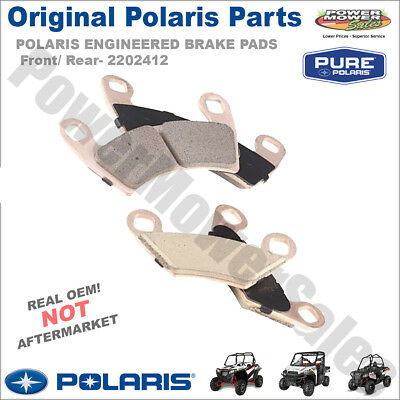 POLARIS ENGINEERED BRAKE PADS Front/ Rear- 2202412