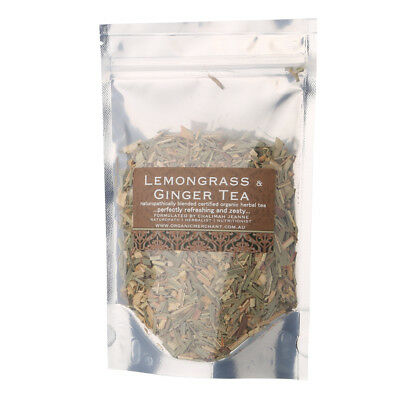 NEW Organic Merchant Lemongrass & Ginger Tea Sachet • AUD 17.00