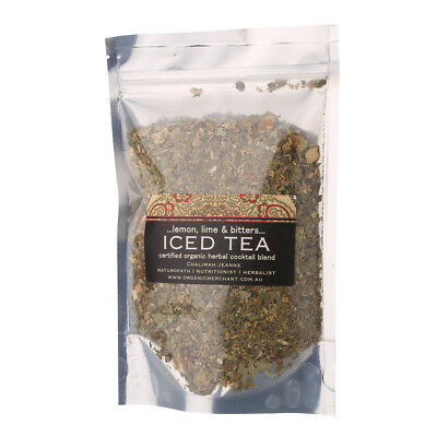 NEW Organic Merchant Lemon Lime & Bitters Iced Tea Sachet