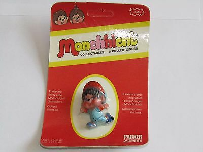 Vintage New 1974 Parker Monchhichi J6500 Baseball Stealing Second Sealed