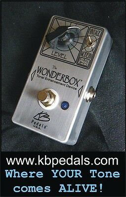 The WONDERBOX Tonal Enhancement Device 100% Analog Point to Point Made in USA