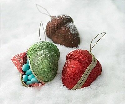 Martha Stewart Crafts Pressed Paper Acorn Boxes: for Ornaments, Treats or Gifts