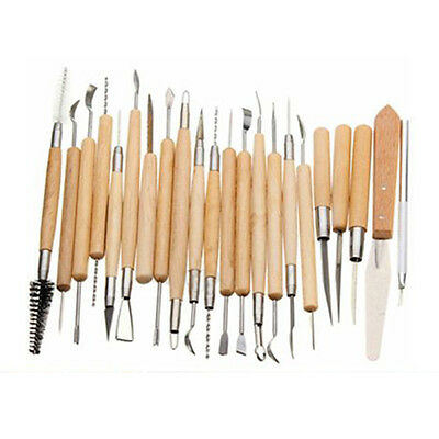 Packof22 Carvers Polymer Clay Pottery Ceramics Needle Sculpting Modeling Tool SH