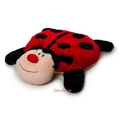 New Newborn Soft Plush Ladybeetle/Lady Bug Play Mat/Rug/Toy Baby Shower Gift