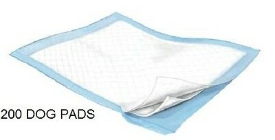 200 - Dog Puppy 23x24 Pet Housebreaking Pad, Pee Training Pads,  Underpads