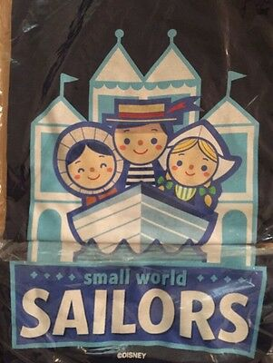 NEW Disney Small World Sailors Limited Edition March Magic Adult T-Shirt LARGE