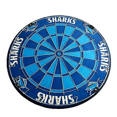 NRL CRONULLA SHARKS Pure Bristle DARTBOARD - NRL Darts in store