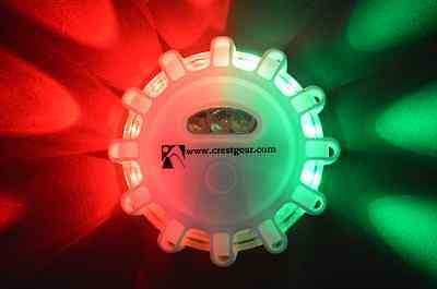 Marine Boat Emergency Led Battery Operated Navigation Light 1 Pce Combo Aussie